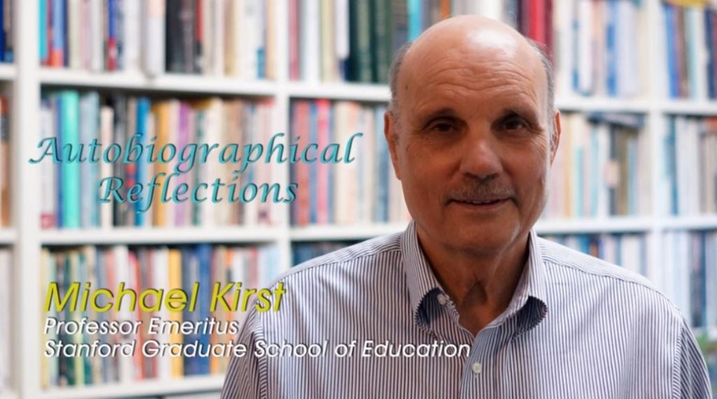 Mike Kirst, Stanford Emeriti Collection, Stanford Center for Education Policy Analysis